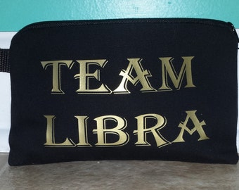 Personalized Zodiac Cosmetic/Make-up bag, Gifts, Party