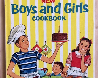 Betty Crocker New Boys and Girls Cookbook