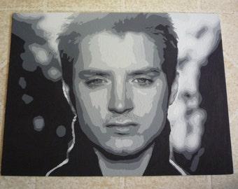 Elijah Wood Painting