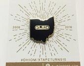 Ohio Mixtape Enamel Pin