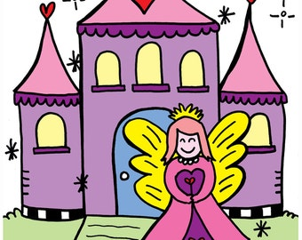 Little Girls Coloring Book Fun