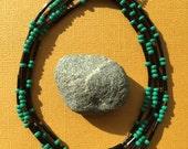 "Morse Code Serenity Prayer | Long Necklace | 46"" | Wrap"