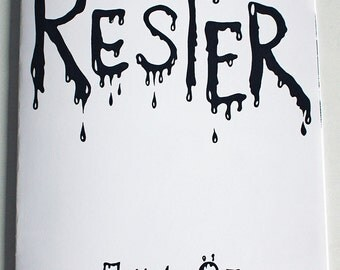 Rester, horror comic by Johanna Öst
