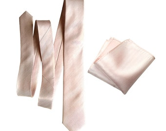 Pink silk necktie. Cotton candy pink woven tie. Pocket squares available too! Pastel pink herringbone silk. Grooms tie and groomsmen gifts!