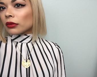 Barrow necklace/ bronze/ East