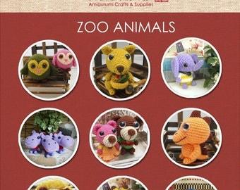 Zoo Animals Amigurumi Patterns - 8 Patterns