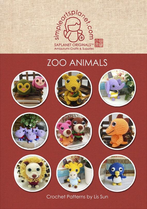 Amigurumi Zoo Animals : Zoo animals amigurumi patterns