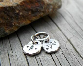 Runic Charm Pendants Rune Jewelry Personalized