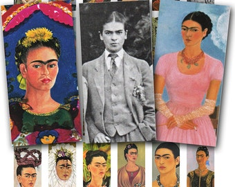 Frida Kahlo digital collage sheet no. 1513