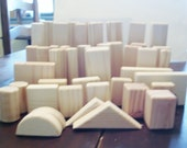 Blocks, Natural Wooden Blocks with Natural Petina  The Wooden Blocks are made for Children 5 and older. NaturalPine Blocks.