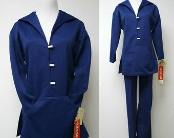 New with Tag!!! . SAIL AWAY . 1960s sailor top and pants set . size 8