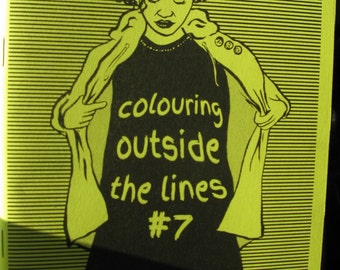 Colouring Outside The Lines zine #7 - Interviews with female artists