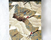 Japanese Cranes Glasses Case, Sunglasses Holder