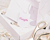 Fragile rubber stamp self inking business stamps