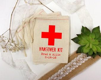 Wedding Favor Bags, Party Favor Bags, Hangover Kit, Bachelor Party Favors, Bachelorette Party Favors, 3 x 5 --64514-MB03-610