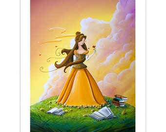 Dreamer Series Limited Edition - Belle - Signed 8x10 Semi Gloss Print (12/20)