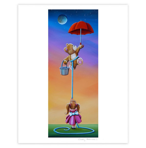 Dreamer Series Limited Edition - The Moon Bandits - Signed 8x10 Semi Gloss Print (3/10)