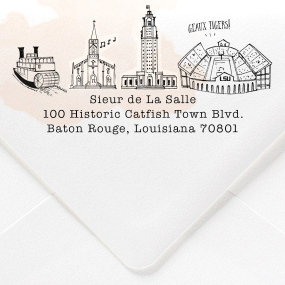 Baton rouge louisiana custom return by nattymichellepaperie for Custom t shirts baton rouge
