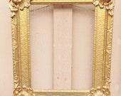 Antique Gold Frame Plaster and Wood Frame Ornate Frame Victorian Frame Gilded Frame Old Classic Frame Fancy Frame Antique Victorian Decor