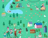 Village   print