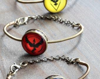 Pokemon go bracelet - Choose your team