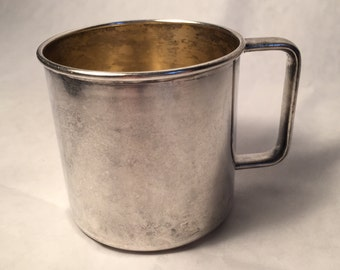 Baby Cup by Rogers 1881 - Silverplate (c.1930s)