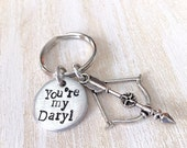 You're my Daryl keychain, Daryl Dixon, Valentines day, Valentines gift, keychain, husband gift, boyfriend gift, gift for men