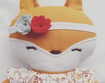 Quincy the Happy Little Fox