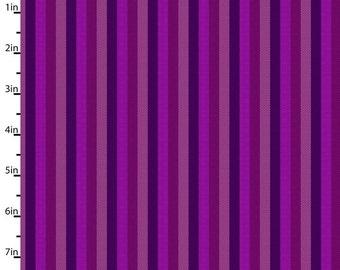 Peppered Stripes Purple Pepper Cory Studio E Fabric 53 inches LAST IN STOCK