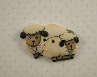 Love Ewe Button