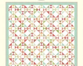 "Black Friday DEALS *** Snippets #981 Quilt Pattern,  84"" x 95"", Bonnie Olaveson, 5"" Charm Pack Friendly, Scrap Busting, Scraps, Scrappy"