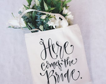 Here Comes The Bride Bridal Shower Gift Bag