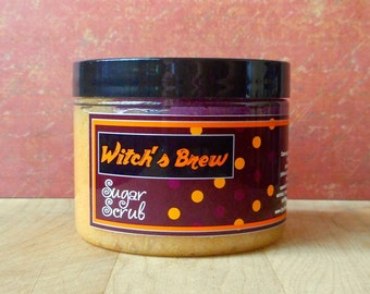 Witch's Brew Sugar Scrub - 8 oz - Limited Edition Fall & Holiday Scent