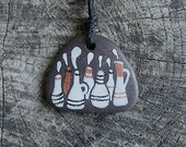 Beach Slate Necklace - Still Life - Vessels and Plants - Vases, Bottles