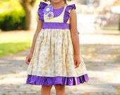 Toddler Girl Easter Dress - Ruffle Dress - Toddler Girl Dresses - Birthday Dress 2 year old  - Birthday Dress - sz 2T to 8