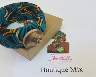 Girlfriend gift, Best friend gift, Fabric wrap bracelet, Sister gift, Womens gift, Bridesmaid gift, African jewelry, African bracelet, Gifts