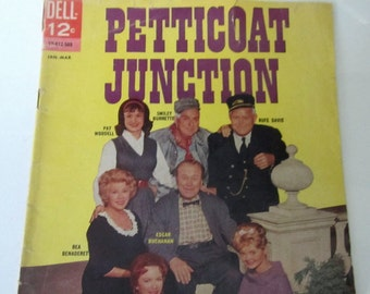 Petticoat Junction Comic Book Magazine January 1965 DELL  Silver Age #2 Advertising TV Series