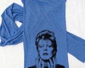 Triblend Blue Ziggy Stardust Scarf