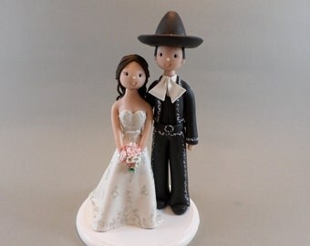 hispanic wedding cake toppers humorous cake toppers etsy 15251