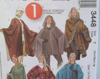 Unique Fur Trimmed Poncho Related Items Etsy