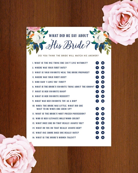 Zany image throughout what did he say about his bride free printable