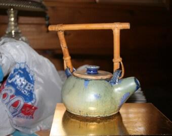 Handthrown Teapot