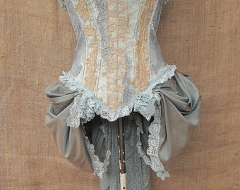 Alice bodice with bustle