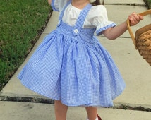 Dorothy wizard of oz tutu girl dress and bows