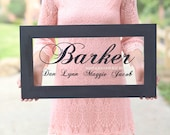Personalized Family Sign Custom Home Decor  (Item Number NMHD1523)