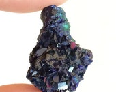 Azurite Malachite Mineral Specimen, High Quality Azurite Crystal, Gemstone, Metaphysical New Age Reiki Healing