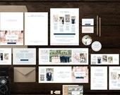 Wedding Welcome Packet for Photographers - Photography Marketing Set - Pricing Guides - Business Cards - Price List Templates