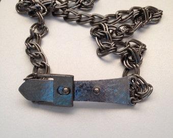 Buckle Chain Belt/Necklace