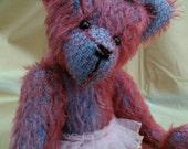 Princess, 10 inch mohair bear by Bedlam bears