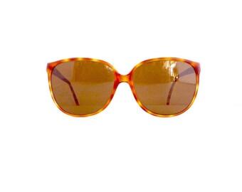 80s 90s Sunglasses Frames Women's Vintage 1980's/1990s Tortoiseshell Frames Made in France #M382 DIVINE